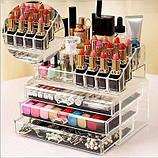 Органайзер для косметики акриловыый Cosmetic Box, фото 4