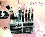 Органайзер для косметики акриловыый Cosmetic Box, фото 5