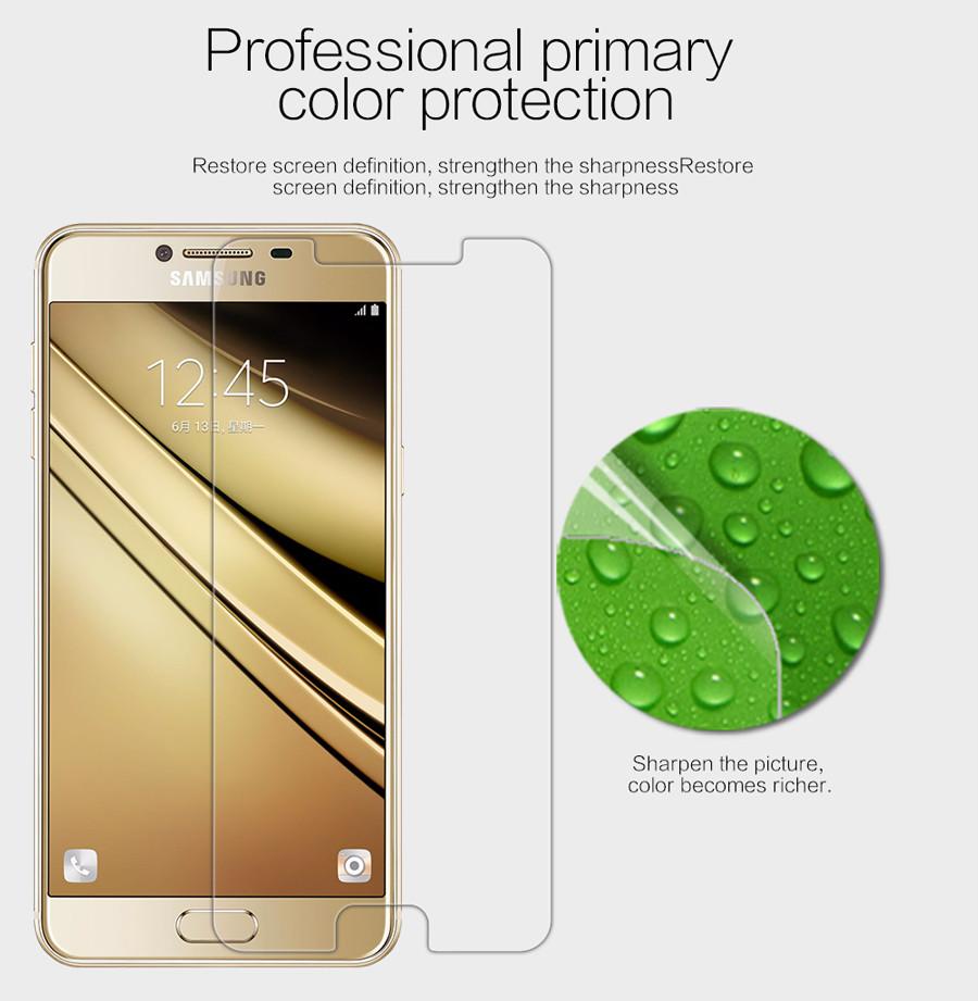 Защитная пленка Nillkin Crystal для Samsung Galaxy C5