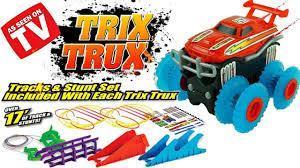 Монстр трак TRIX TRUX (Трикс Тракс) 2 машинки