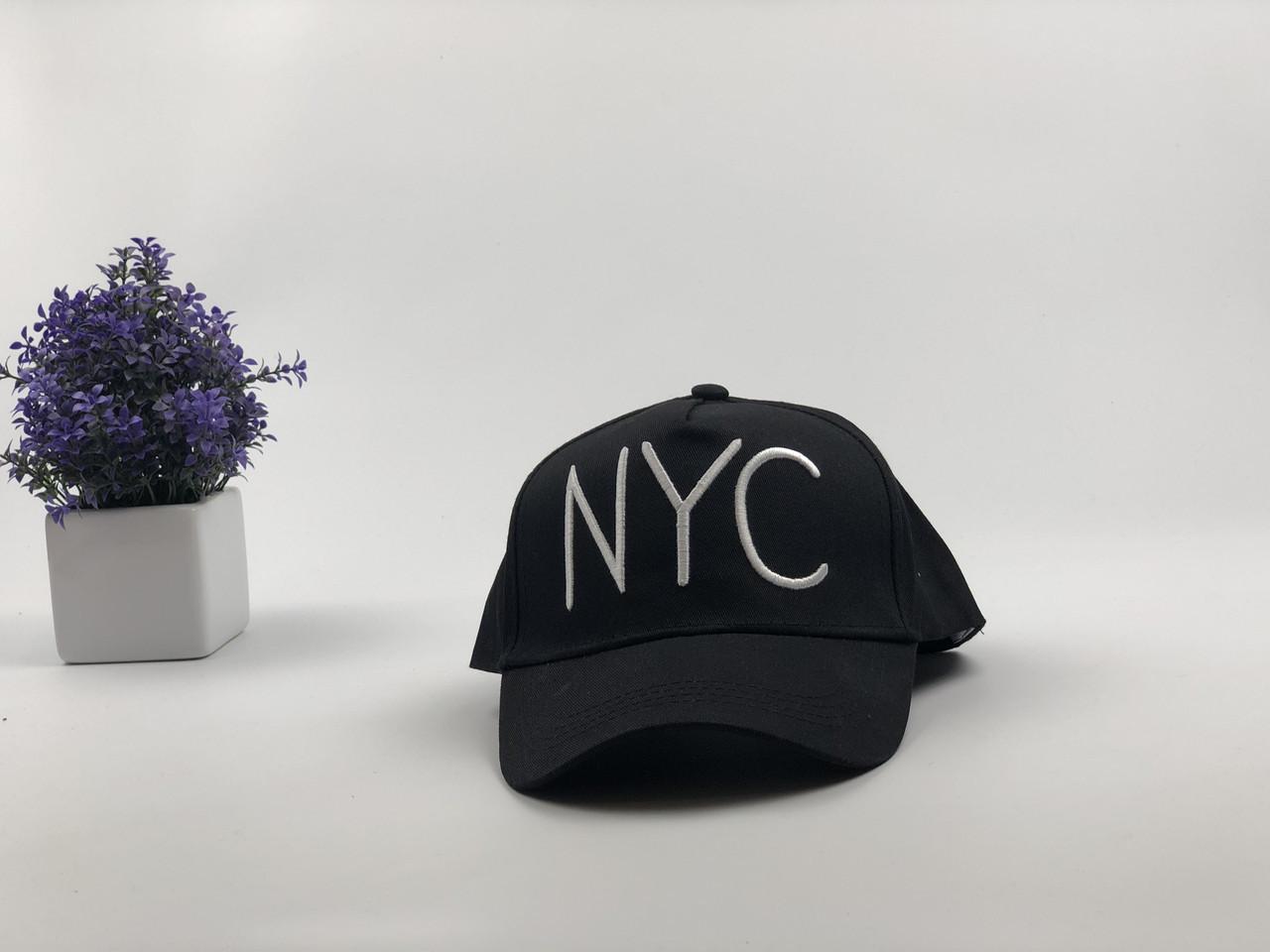 Кепка бейсболка NYC (черная)