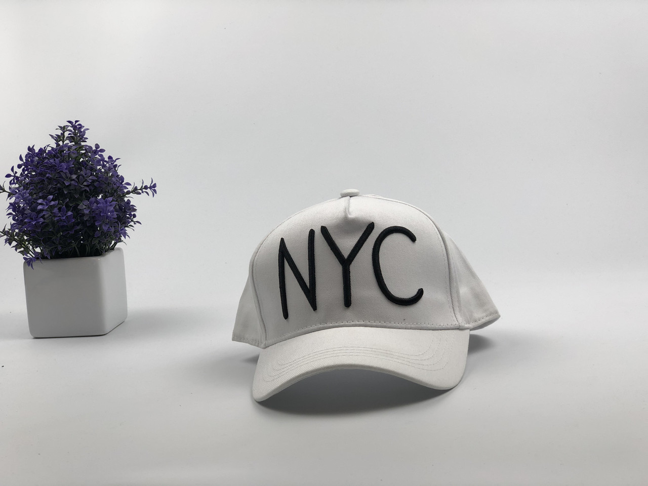 Кепка бейсболка NYC (белая)