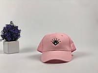 Кепка бейсболка Diamond (розовая), фото 1