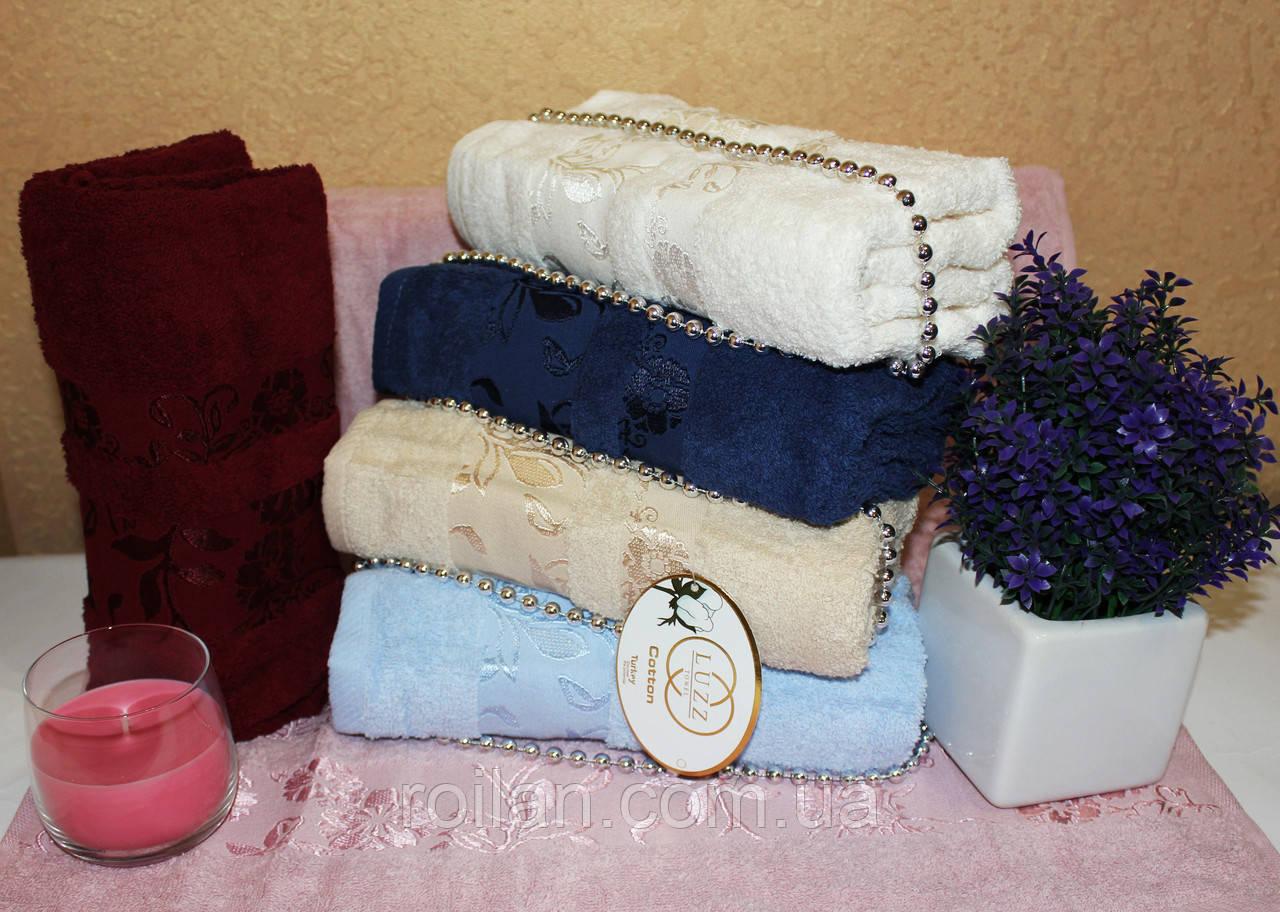 Метровые турецкие полотенца Luzz Zambak