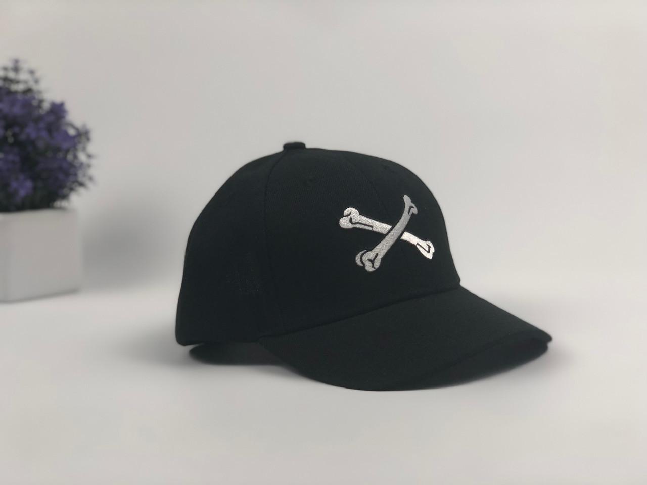 Кепка бейсболка Wuke Кости (черная)
