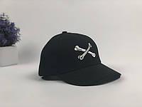Кепка бейсболка Wuke Кости (черная), фото 1