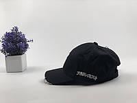 Кепка бейсболка Япония с кольцами,булавой (черная), фото 1