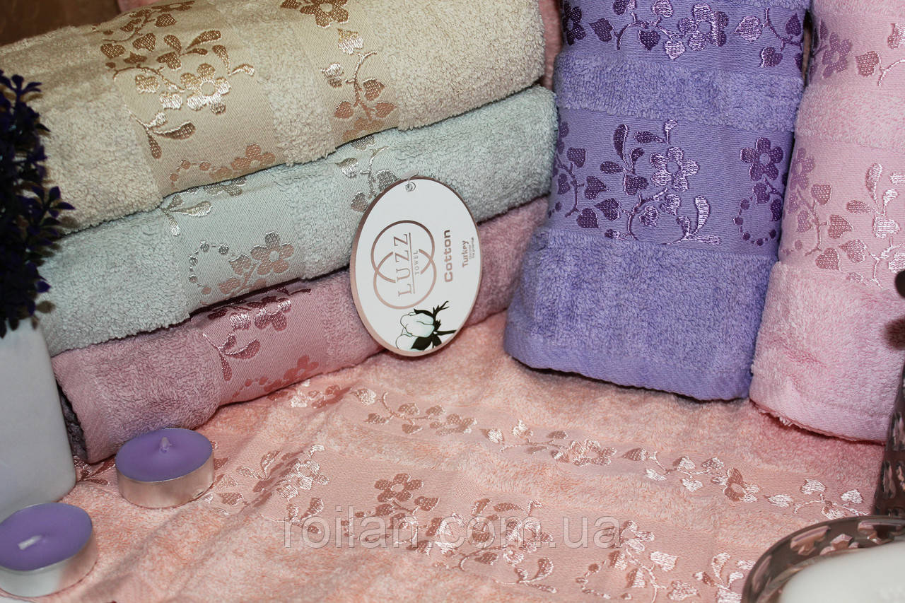 Метровые турецкие полотенца Luzz Kapdelen