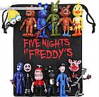 Мешок для игрушек 5 ночей с Фредди - Подарочная Сумка Аниматроники. Фнаф fnaf, фото 2