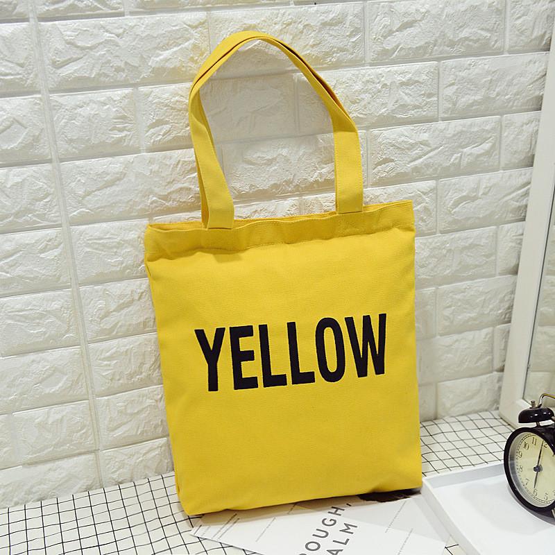 Тканевая Сумка Yellow (желтый)