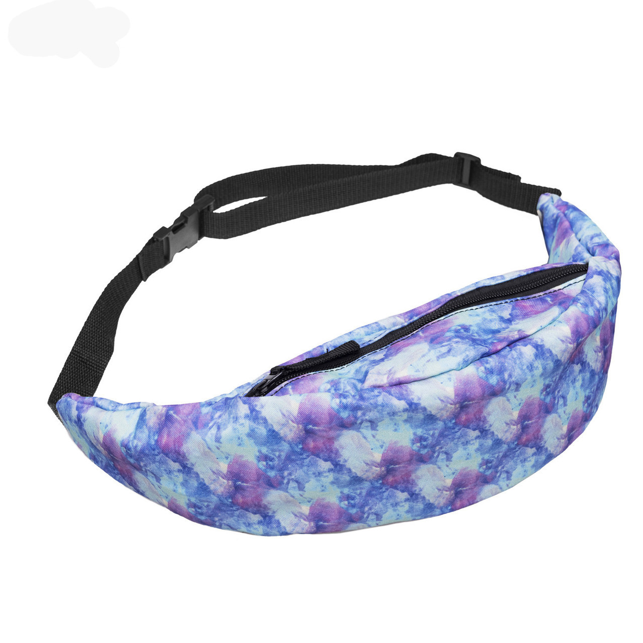 Сумка на пояс Бананка Zohra Фиолетовые Облака