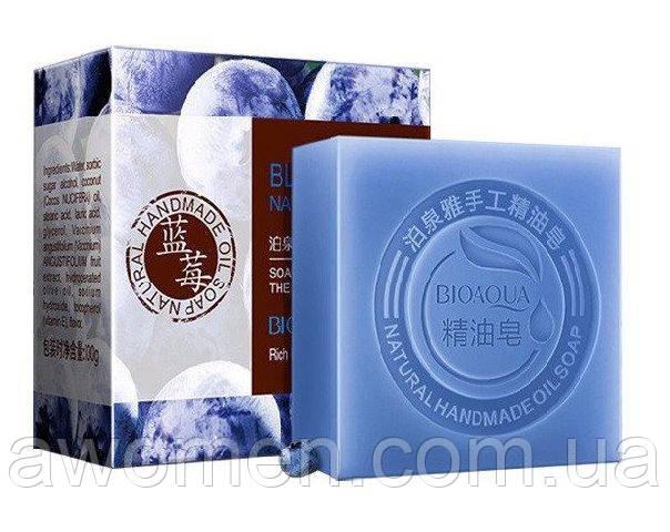 Натуральное мыло BIOAQUA Blueberry Natural Oil Soap с экстрактом черники и кокосовым маслом 100 g