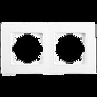 Рамка 2-на горизонтальна LINNERA Білий