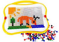 Мозаика детская, игрушка развивающая (350 элементов)