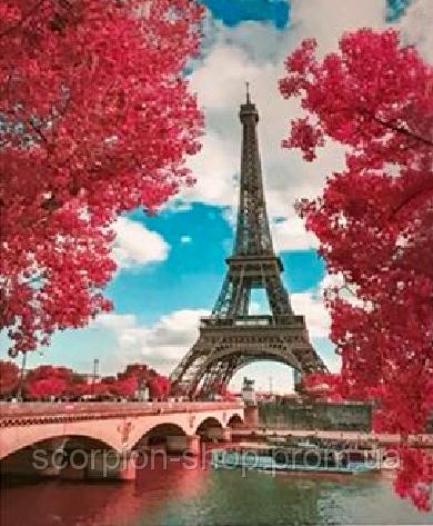 Картина по номерам «Краски весеннего Парижа» (40*50 см)