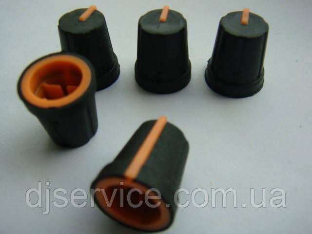 Ручка потенциометра (orange) для DBX 166, 266 223  234, Tascam US-2x2