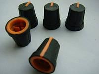 Ручка потенциометра (orange) для DBX 166, 266 223  234, Tascam US-2x2, фото 1