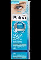 Balea увлажняющий ролик для кожи вокруг глаз увлажняющий крем-гель с синими водорослями и термальной водой Aqua Augen Roll-On 15ml