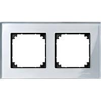 M-Elegance стекло рамка 2 п., бриллиантовое серебро