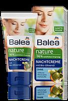 Balea ночной крем с 95% натуральными составляющими с БИО-Оливковым маслом Nature Nachtcreme 50ml
