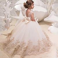 Детское бальное платье Кружево