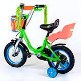 """Детский велосипед с корзинкой Corso бьюти 12"""", фото 2"""