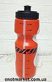 Бутылка для воды велосипедная красного цвета
