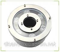 Світильник підводний для підсвічування фонтану FG-01 6W RGB LED 12V розмір 130мм * 80мм IP68, фото 6