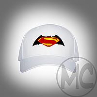 Кепка Batman v Superman (Бэтмен против Супермена) | Бейсболка Бэтмен против Супермена