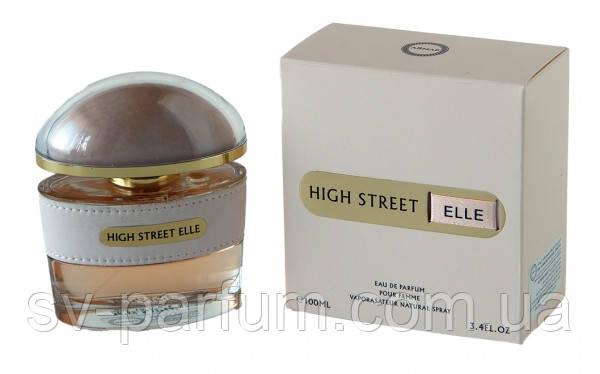 Парфюмированная вода женская High Street Elle 100ml