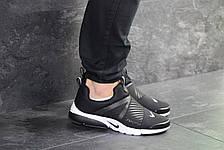 Мужские кроссовки Nike air presto,текстиль,черно-белые, фото 3