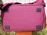 Термосумка - рюкзак Dolphin середніх розмірів для кур'єрської доставки їжі, обідів, напоїв. На липучках., фото 5