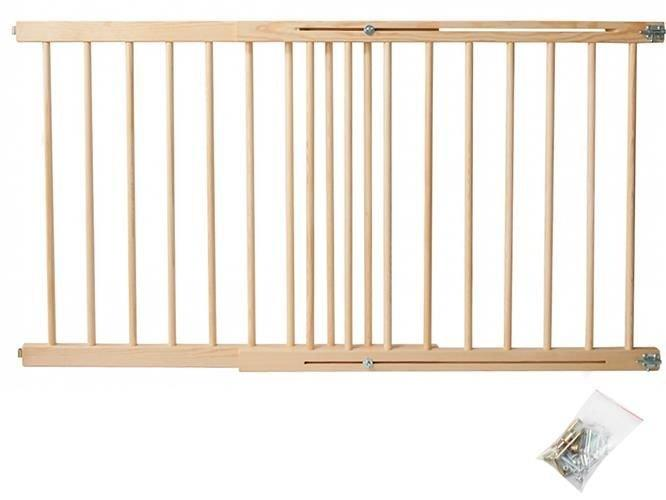 Запобіжні ворота для дверей 72-122см , брама для безпеки, ворота безопасности в проем для детей и животных