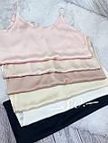 Топ жіночий шовковий, фото 5
