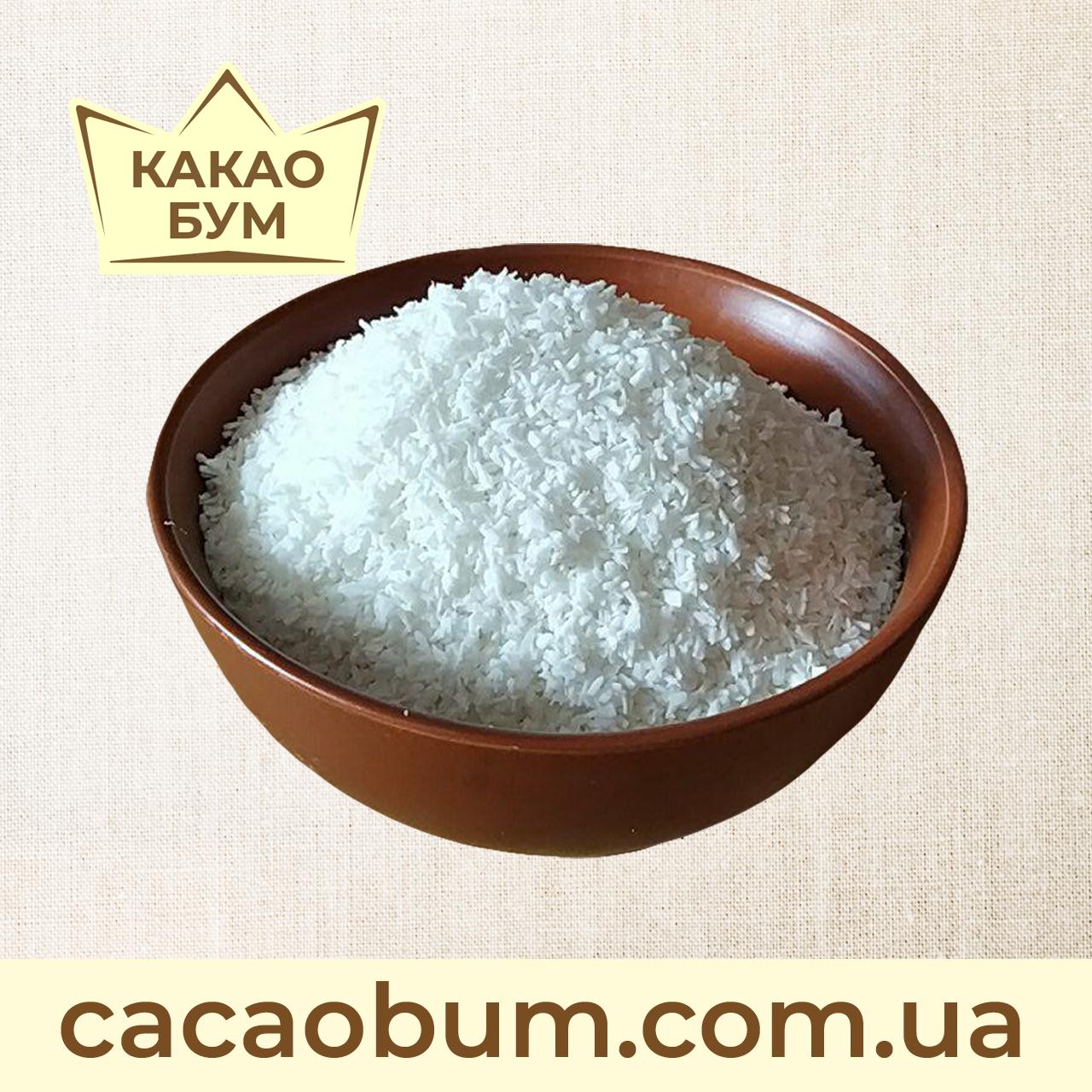 "Стружка кокоса Малайзія ""Medium"" 1 кг, жирність 65%"