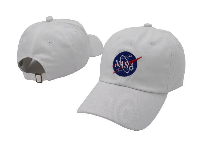 Белая кепка бейсболка NASA мужская женская