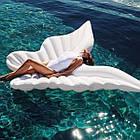 Надувной матрас-плотик, плот, белая бабочка 200х180см, фото 2