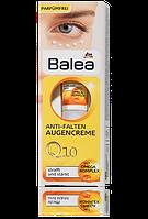 Balea антивозрастной крем для кожи вокруг глаз с Q10 и Омега-комплескомQ10 Anti-Falten Augencreme 15ml