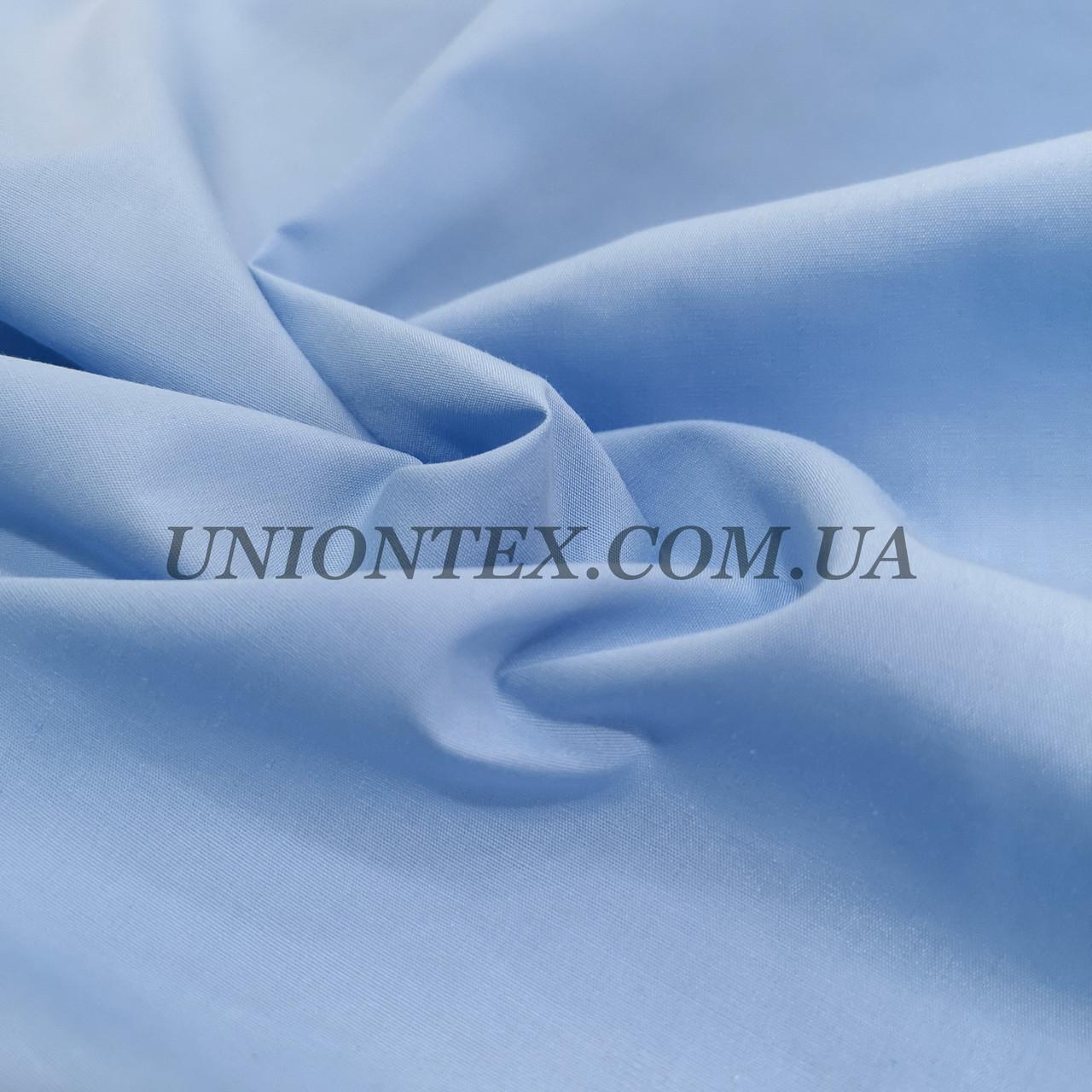 Рубашечная ткань светло-голубая