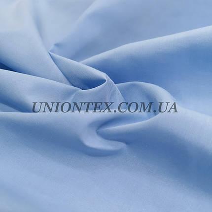 Рубашечная ткань светло-голубая, фото 2