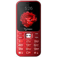 Мобильный телефон Sigma mobile X-style 32 Boombox Dual Sim (Red)