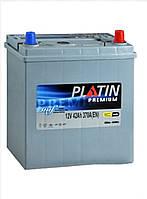 Акумулятор АКБ PLATIN Premium JP 6CT- 42Aз 370A R SMF нижнее крепление+адаптор