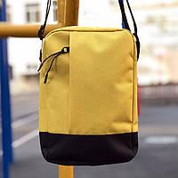 Сумка мессенджер на плечо Пушка Огонь Combo желтая, фото 1