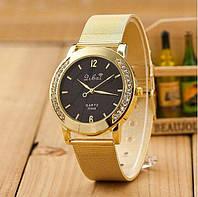 Золотые наручные часы Libai для стильных женщин Практичные стильные часы Интернет магазин Розница Код: КДН5186