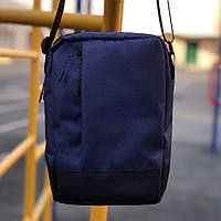 Сумка месенджер на плече Пушка Огонь Combo синя, фото 1