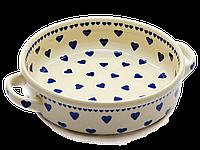 Керамическая форма для выпечки и запекания с ручками 18 Flying Hearts, фото 1
