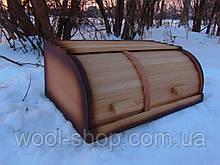 Хлібниця дерев'яна 44*27*17