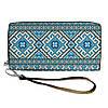 Большой женский текстильный кошелек с украинским орнаментом. 2 цвета!