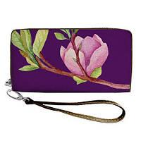 Большой женский текстильный кошелек на молнии. 2 цвета!, фото 1