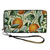 Женский яркий текстильный кошелек с апельсинами. 2 цвета!